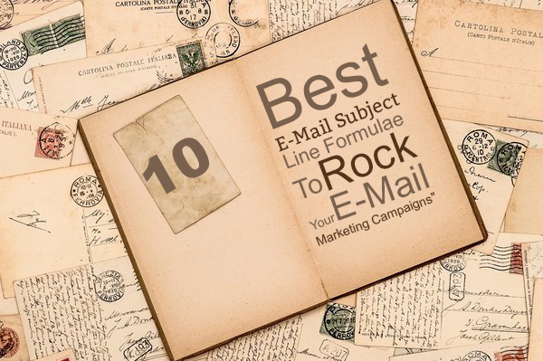Best E-Mail Subject Line Formulae To Rock Your E-Mail Marketing Campaigns