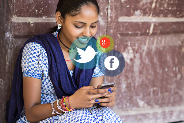 100 Growth in Social Media Usage in Rural India