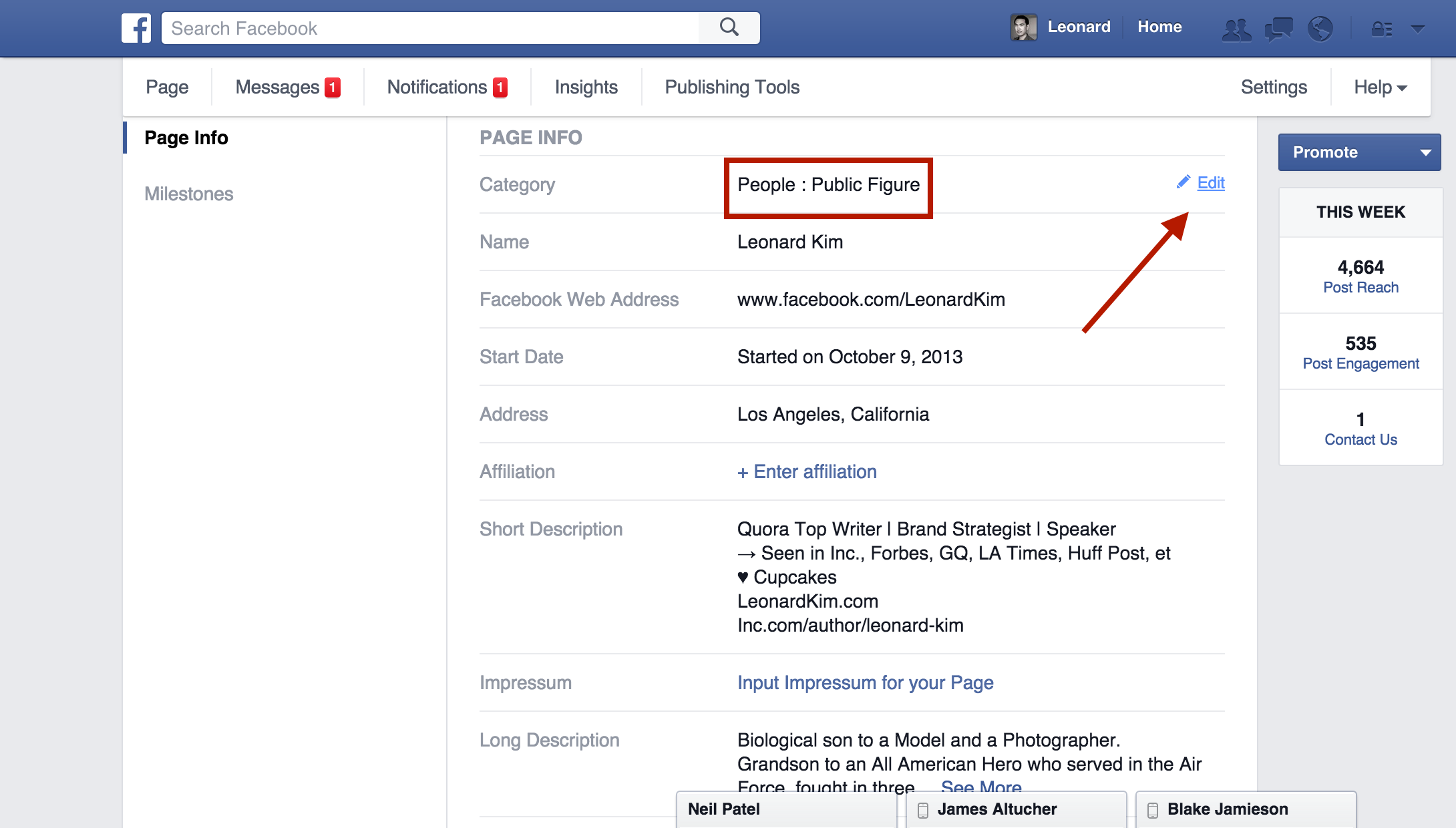 How To Get Verified On Facebook With Mentions Step 1