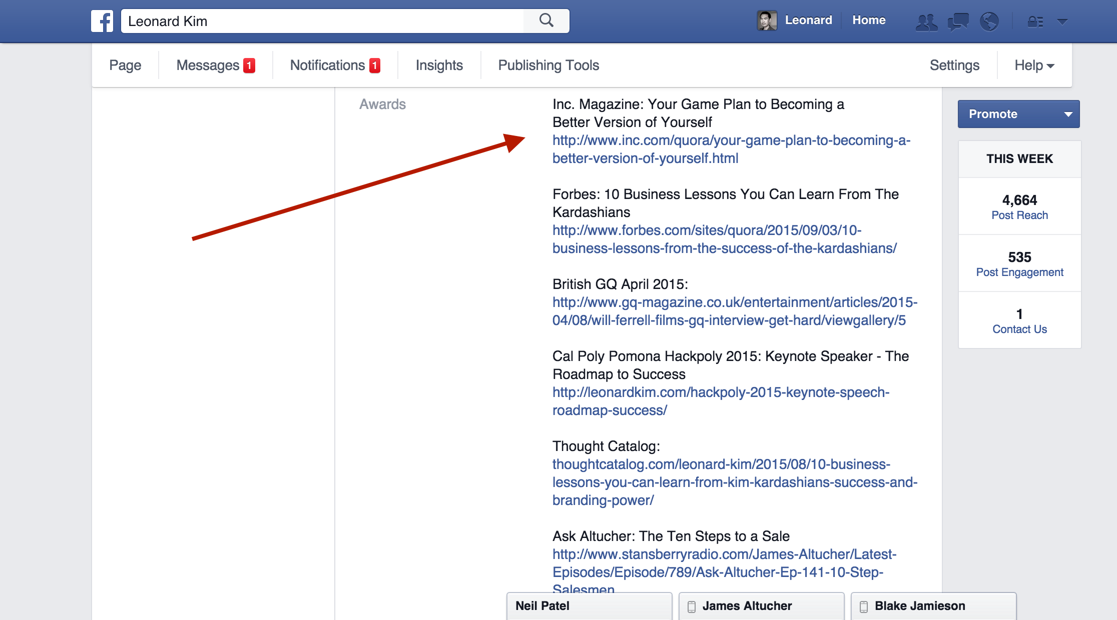 How To Get Verified On Facebook With Mentions Step 2