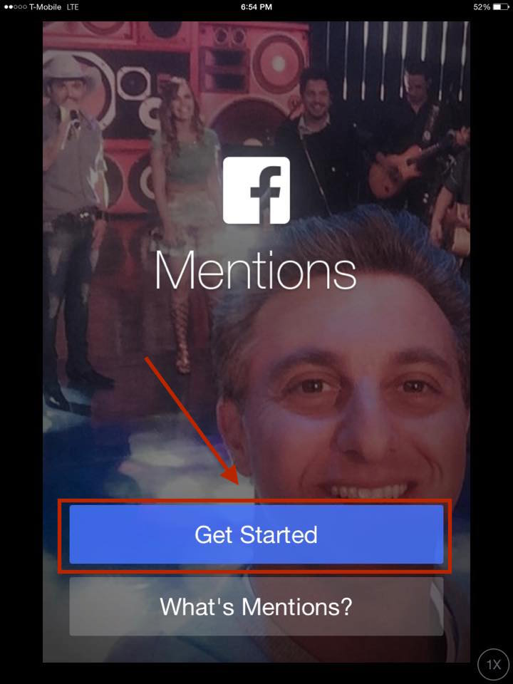 How To Get Verified On Facebook With Mentions Step 6