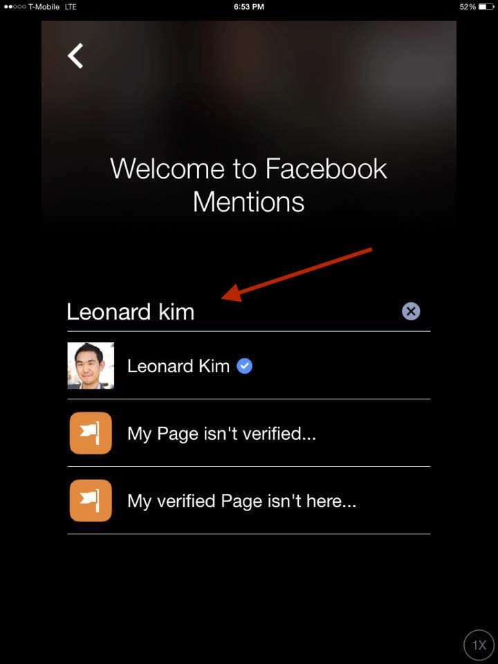 How To Get Verified On Facebook With Mentions Step 7