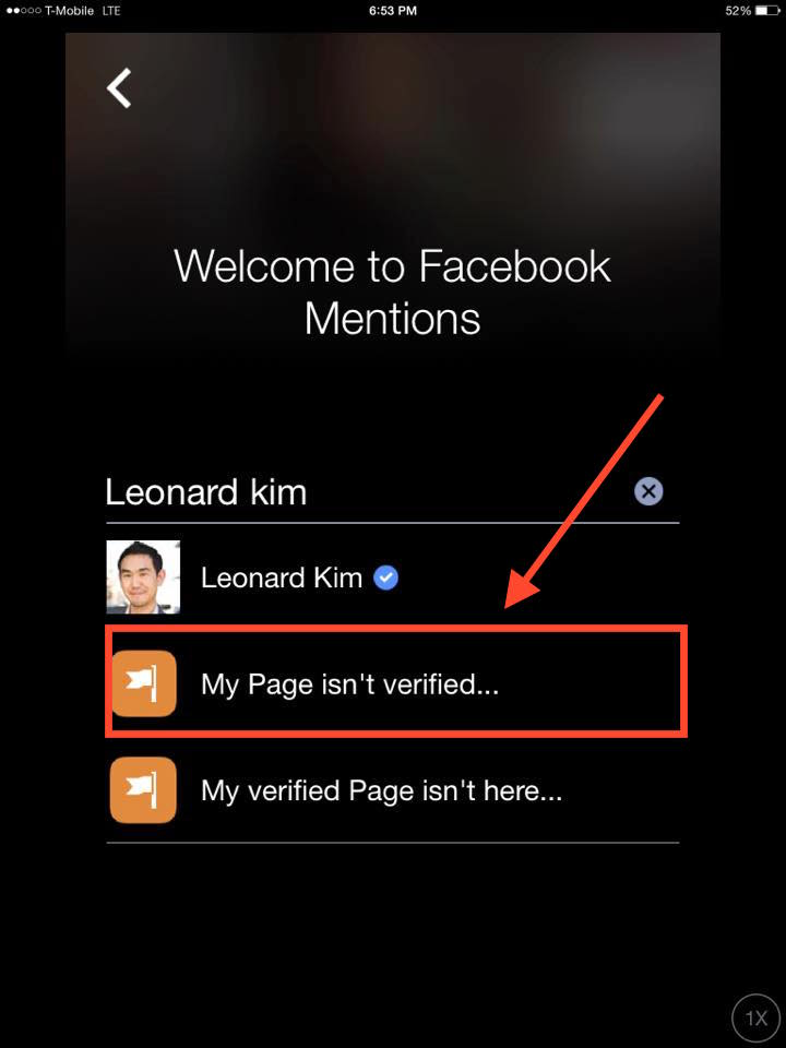 How To Get Verified On Facebook With Mentions Step 8