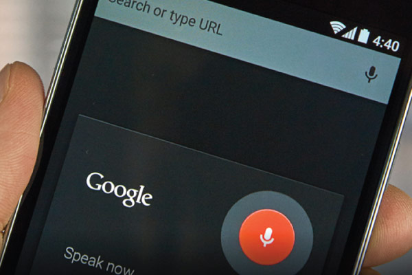 Sundar Pichai Says 20% of Mobile Queries are Voice Searches