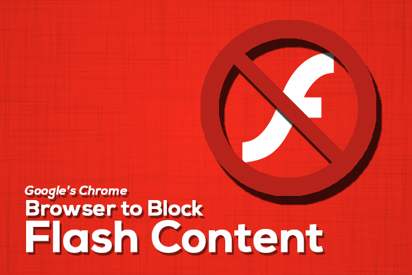 Block Flash Content