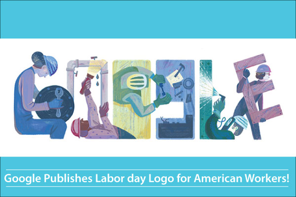 Google Publishes Labor day Logo