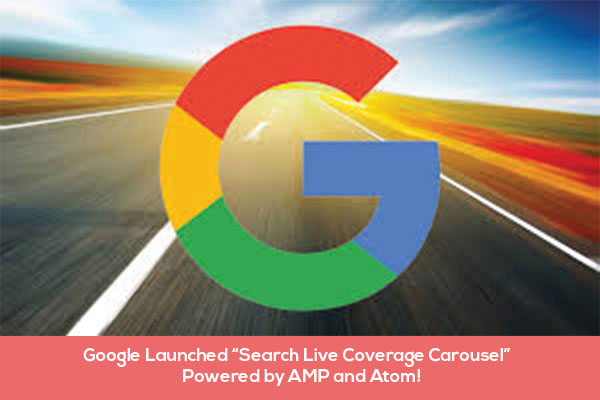 Google Launched Search Live Coverage Carousel