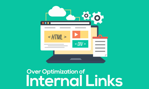 over optimization of internal links