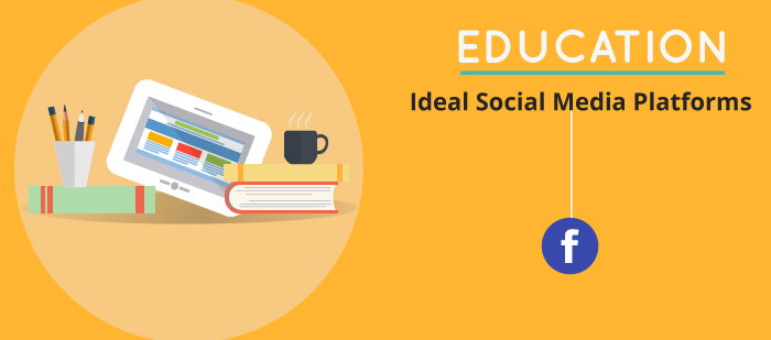 Ideal social media platforms for education sector
