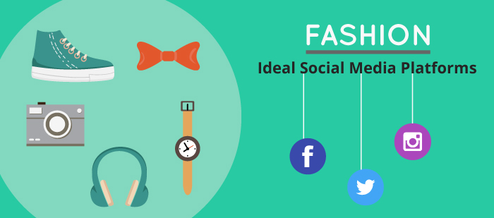 Ideal social media platforms for fashion industry