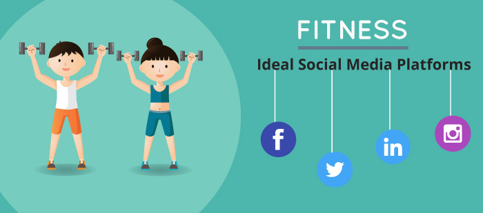 Ideal social media platforms for fitness industry