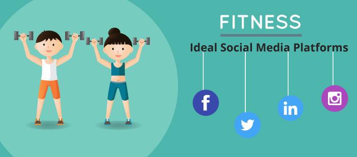 Ideal social media platforms for fitness industry