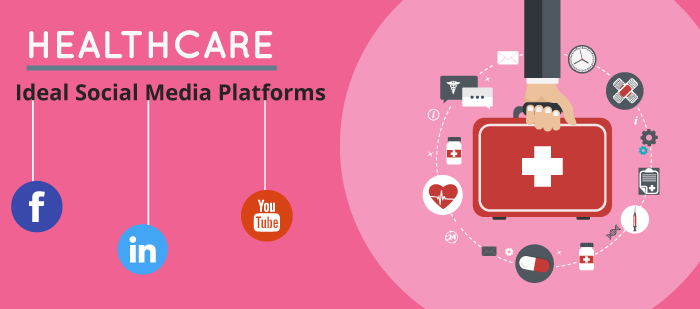 Ideal social media platforms for healthcare industry