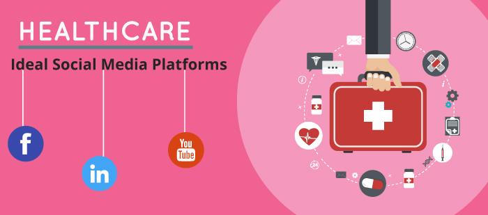 Ideal social media platforms for healthcare industry