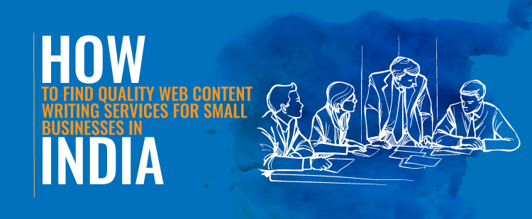 Web content writing services india