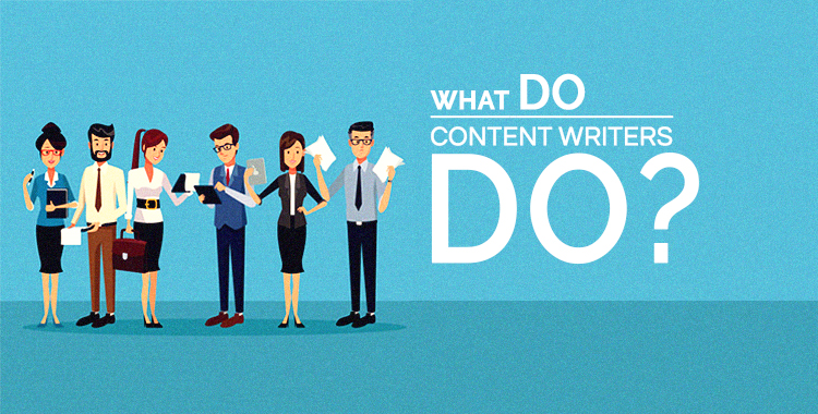 What do Content Writers Do
