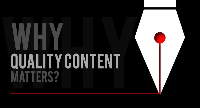 Importance of Quality Content