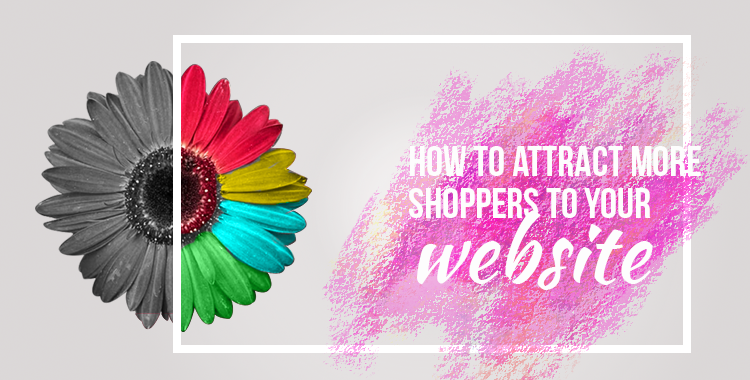attract shoppers to your website featured image