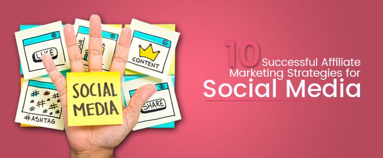 social media affiliate marketing strategies featured image