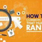 Common SEO Errors that Hurt Your Rankings